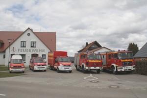 Fahrzeuge der Feuerwehr Rennertshofen
